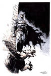 Sketches at NYCC 2014: BATMAN by FrancescoTrifogli