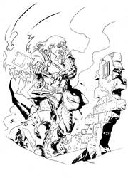 Mighty Thor by FrancescoTrifogli