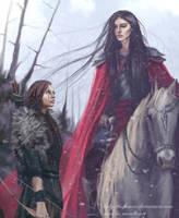 Caranthir and Haleth by SaMo-art