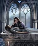 Aredhel felt into the darkness by SaMo-art