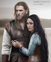 Beren and Luthien by SaMo-art