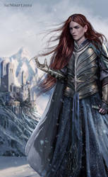 Maedhros Lord of Himring by SaMo-art