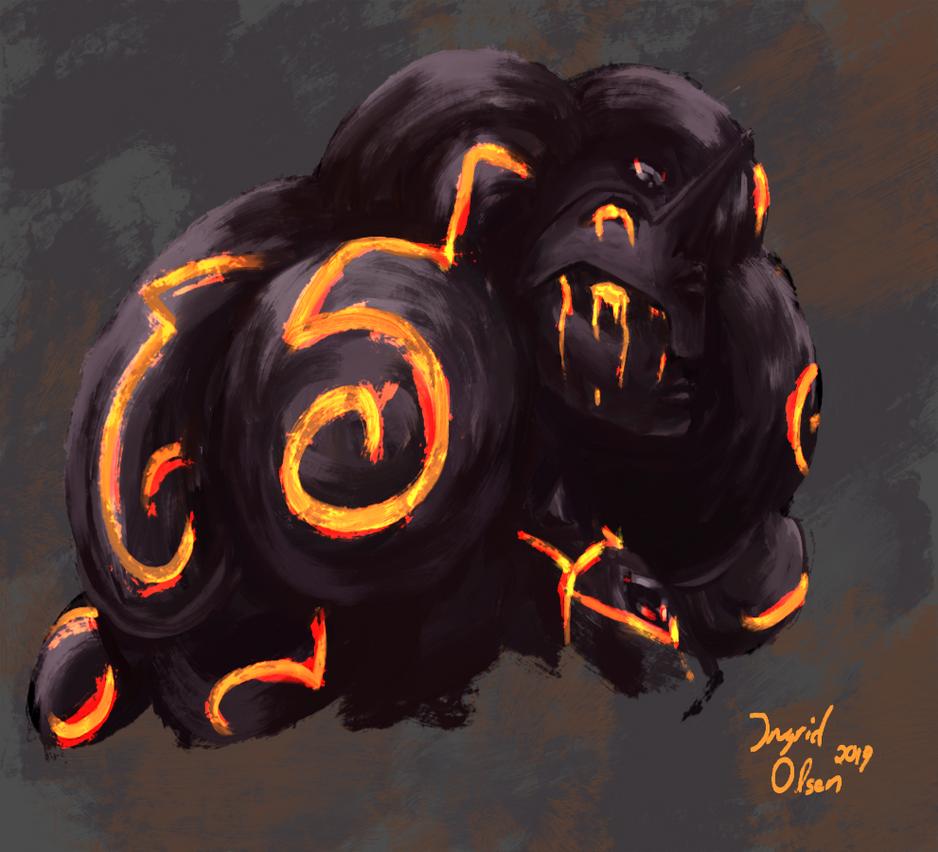 Obsidian from Steven Universe