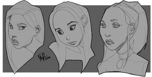 Face Stuff by Kebikun