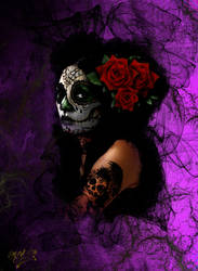 Santa Muerte by K-Roll-H