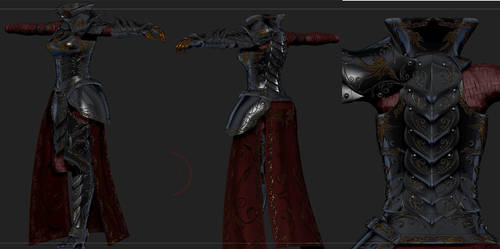 Divines Emissary Skyrim Custom Armor by Zerofrust