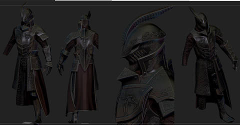 KNight of the Silver Dragon  for skyrim by Zerofrust
