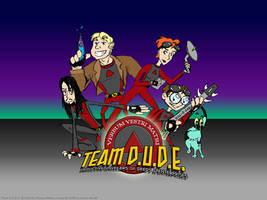 Team D.U.D.E. Wallpaper by LeeshaJoy