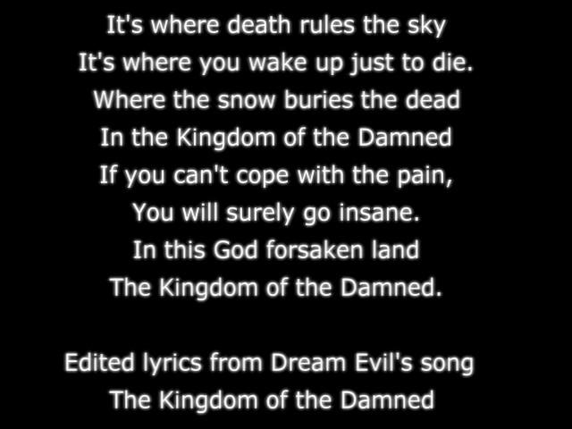 KotD Lyrics by FauxPersona