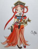 Sailor Moon - Princess Kakyuu by Elveariel