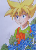 Beyblade - Max and Cineraria by Elveariel