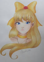 Sailor Venus's portrait by Elveariel
