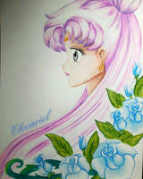Sailor Moon - Queen Serenity by Elveariel