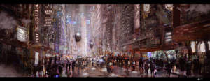 Cyberpunk by vincentee