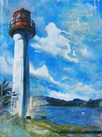 Mayne Island Lighthouse by bedowynn