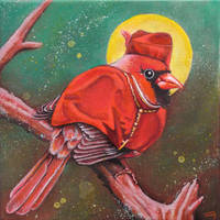 Sancto Cardinalidae by bedowynn