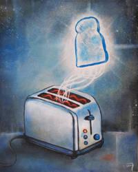 Ghost Toast by bedowynn