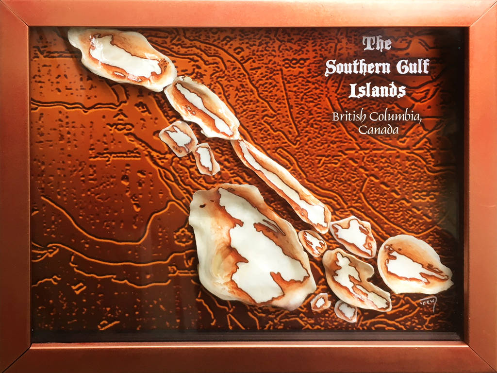 Southern Gulf Islands Shell Set by bedowynn