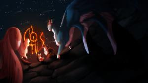 .:kukuri:. Magic Night by Askila-Deamon