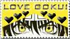 Stamp Son Goku by Sanji91