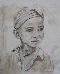 Enfants du Monde Anonyme N10 by Portraits-by-Sofie