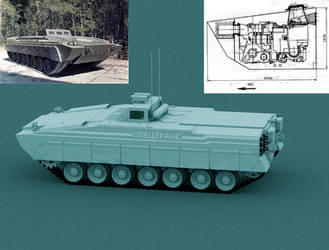 Object 299 Tank test vehicle W.I.P 2 by Yaskolkov