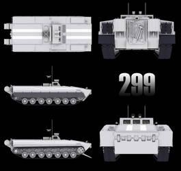 Object 299 Tank test vehicle W.I.P 3 by Yaskolkov