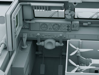 Object 299 Tank test vehicle interior 2 W.I.P by Yaskolkov