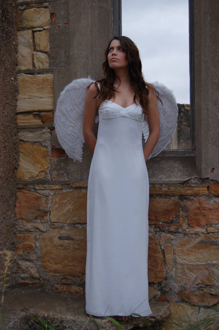 Posed Angel 13 by Storms-Stock