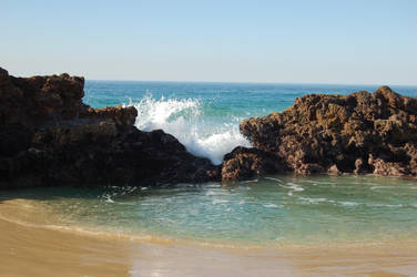 Turquoise Beach Stock 4 by Storms-Stock