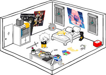 Arwen- Look around your room by Emberelf14