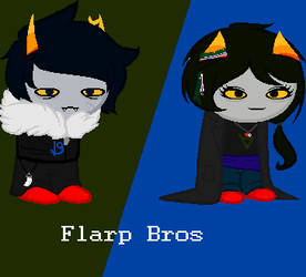 Flarp Bros by Emberelf14