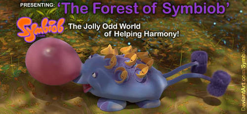 'The Forest of Symbiob' Post Image Side Margins by Symbiob