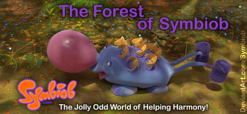 'The Forest of Symbiob' post image with margin by Symbiob