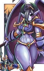 Dreadlord Jaina by Sagas293