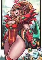 Valeera, Shadow of the Uncrowned by Sagas293