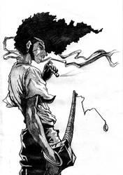 Afro Samurai by noadiction