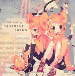 Kagamine twins ID by yuukoxclow
