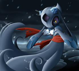 :Winter Spell: Froslass by endless-whispers