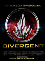 Divergent Movie Poster by 4thElementGraphics