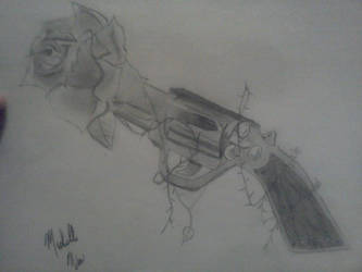 Gun Rose by Chellemybell90