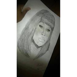 Nicki Minaj by Chellemybell90