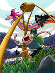 Adventure Time by dragonalth
