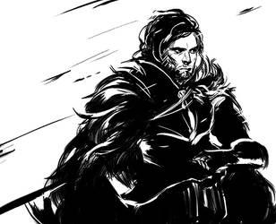 Jon Snow - asoiaf by 2013