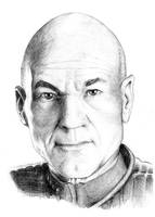 Captain Picard by simre