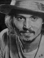 Johnny Depp on ATC by TinyAna