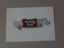 Tootsie Roll on ATC by TinyAna