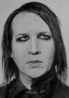 Marilyn Manson on ATC by TinyAna
