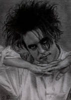 Robert Smith (The Cure) on ATC by TinyAna