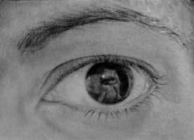 WIP # 4: Eye in pencil by TinyAna